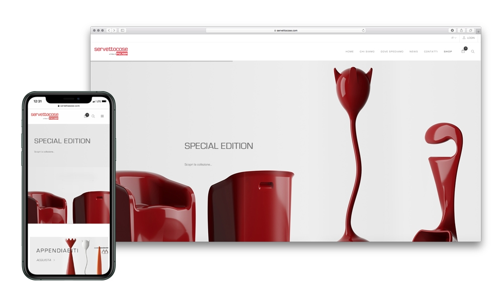 E-commerce | responsive website | Graphic layout  1