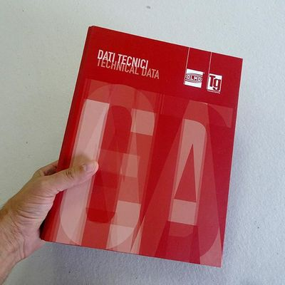 Book Dati Tecnici | Graphic layout